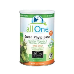 All-One (Nutri-Tech) Green Phyto-Base Powder - 30 Day supply 15.9 Oz
