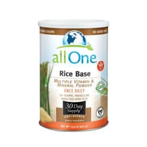 All-One (Nutri-Tech) Multiple Vitamin and Mineral Powder, Rice Base - 15.9 OZ (30 Day Supply)
