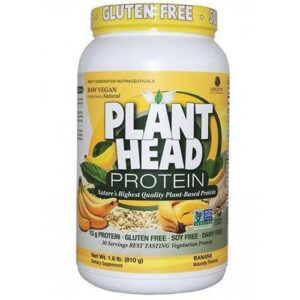 Plant Head Protein Banana 1.8 lbs by Nature's Answer