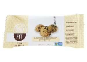 Bhu Fit - Vegan Pea Protein Superfood Chocolate Chip Cookie Dough - 1.6 oz.